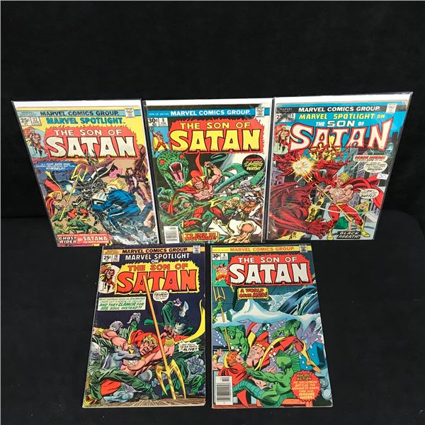 THE SON OF SATAN COMIC BOOK LOT (MARVEL COMICS)