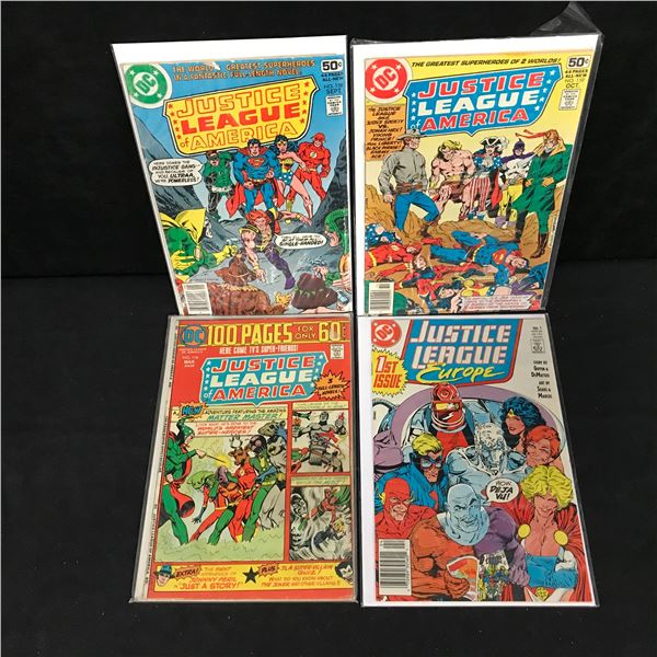 JUSTICE LEAGUE COMIC BOOK LOT (DC COMICS)