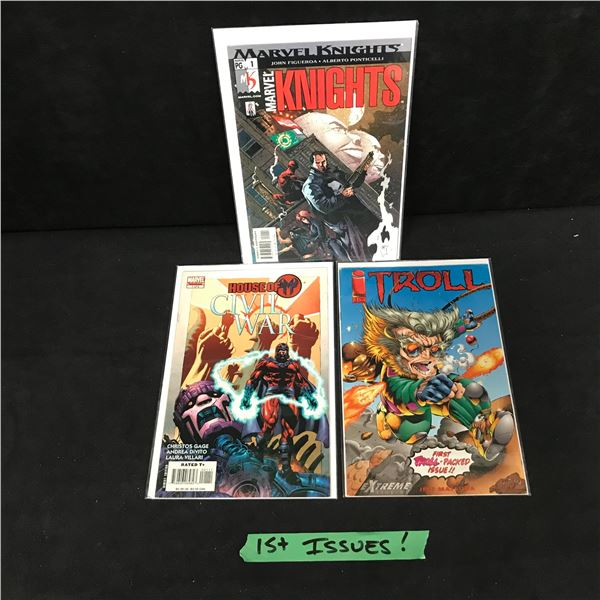 FIRST ISSUES COMIC BOOK LOT