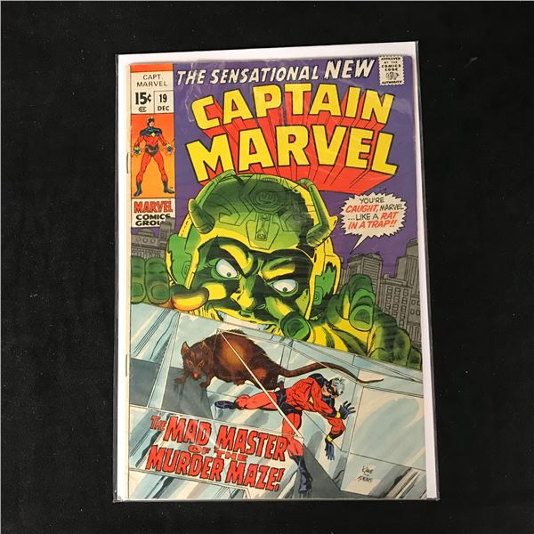 CAPTAIN MARVEL #19 (MARVEL COMICS)