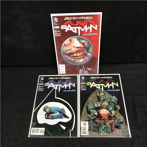 BATMAN COMIC BOOK LOT (DC COMICS)