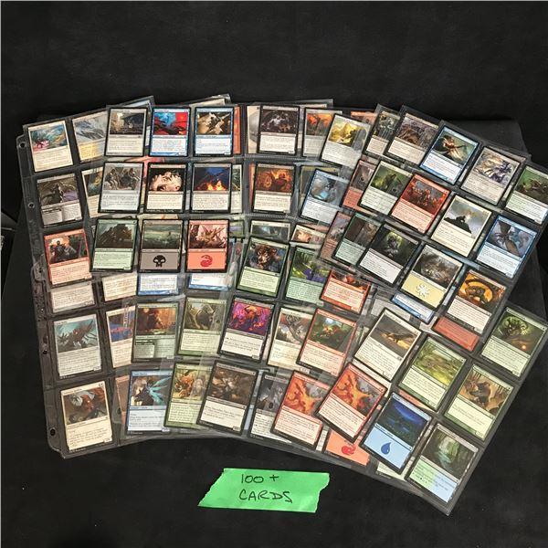 100+ MAGIC THE GATHERING CARD LOT