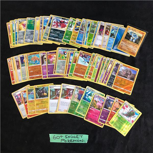 60+ SHINY POKEMON CARDS