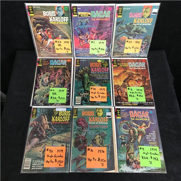 VINTAGE GOLD KEY COMICS BOOK LOT