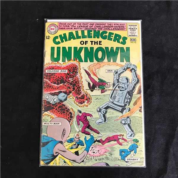 CHALLENGERS of the UNKNOWN #42 (DC COMICS)