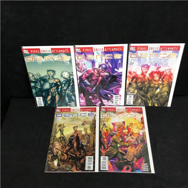 DANCE Final Crisis Aftermath COMIC BOOK LOT (DC COMICS)