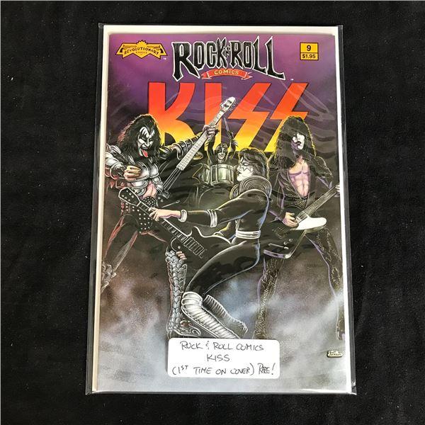"""ROCK 'N' ROLL COMICS """"KISS"""" #9 (REVOLUTIONARY COMICS)"""