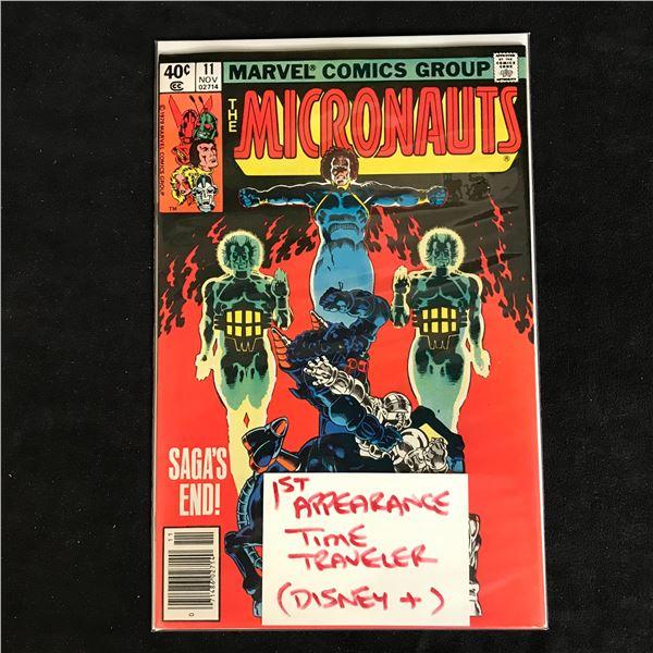 THE MICRONAUTS #11 (MARVEL COMICS)