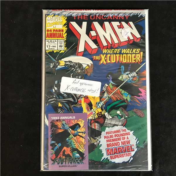 THE UNCANNY X-MEN #17 (MARVEL COMICS)