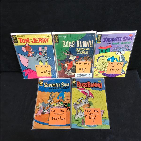 VINTAGE GOLD KEY/ WHITMAN COMICS BOOK LOT