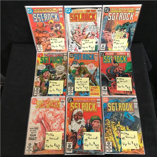 ASSORTED SGT. ROCK COMIC BOOK LOT (DC COMICS)