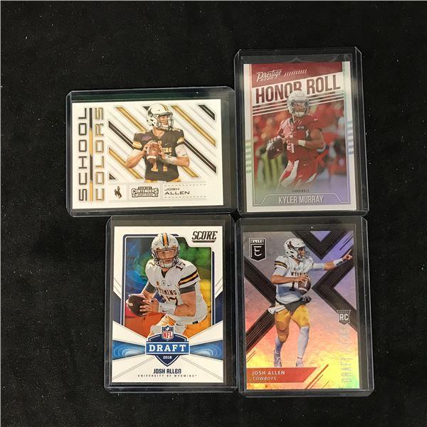 FOOTBALL ROOKIES CARD LOT