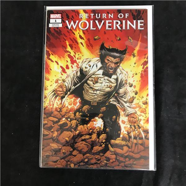 RETURN OF WOLVERINE #1 (MARVEL COMICS)