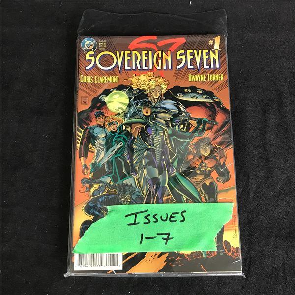SOVEREIGN #1-7 (DC COMICS)