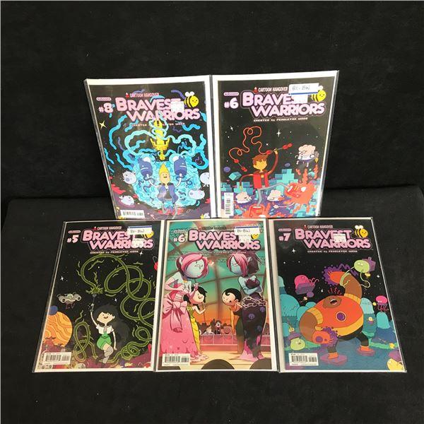BRAVE WARRIORS COMIC BOOK LOT (KABOOM COMICS)