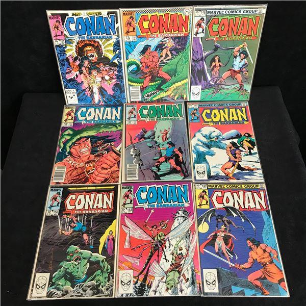 ASSORTED CONAN COMIC BOOK LOT (MARVEL COMICS)