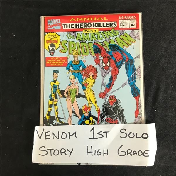 The AMAZING SPIDER-MAN #26 Annual The Hero Killer PART 1 (MARVEL COMICS)