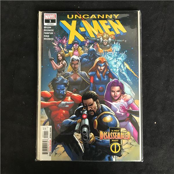 THE UNCANNY X-MEN #1 X-MEN Disassembled Part 1 (MARVEL COMICS)
