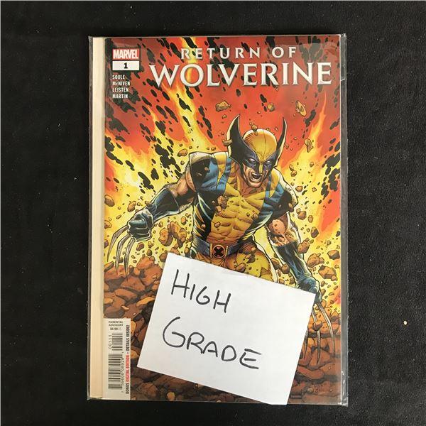 RETURN OF WOLVERINE #1 (MARVEL COMICS) *HIGH GRADE*