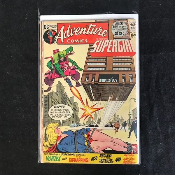 ADVENTURE COMICS #41 (DC COMICS) 52 BIG PAGES