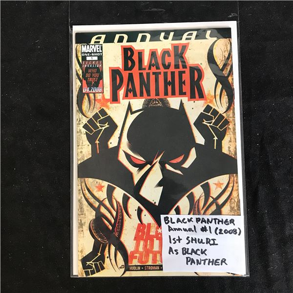 ANNUAL BLACK PANTHER #1 (MARVEL ONE-SHOT) 2008