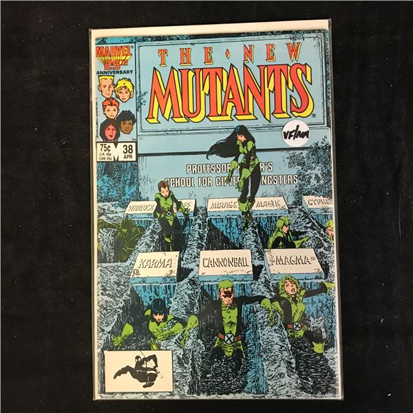 THE NEW MUTANTS #38 (MARVEL COMICS)