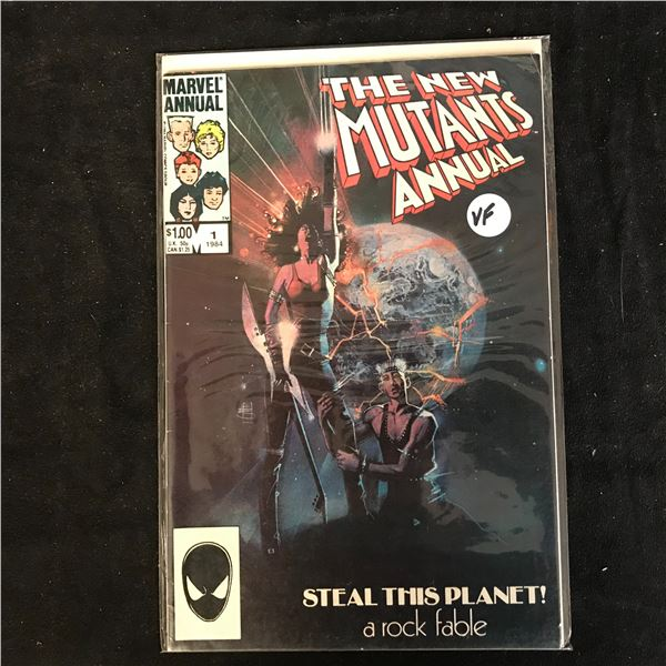 THE NEW MUTANTS ANNUAL #1 (MARVEL COMICS)