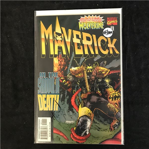 MAVERICK In the Shadows of Death (MARVEL COMICS)