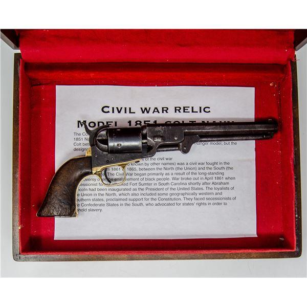 1863 CIVIL WAR COLT M1851 WITH 1870S