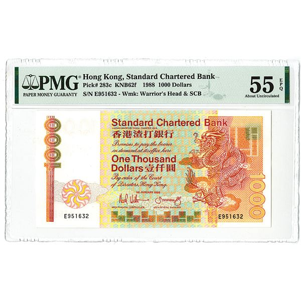 Standard Chartered Bank. 1988. Issued Note.