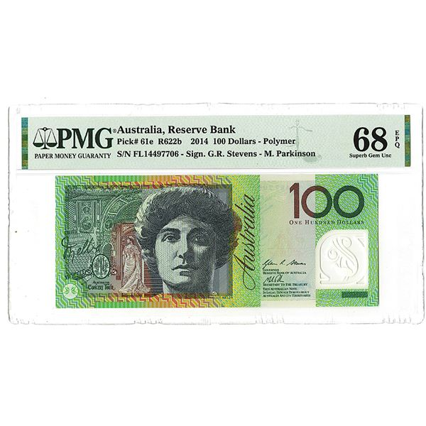 "Reserve Bank of Australia. 2014. ""Top Pop"" Issued Banknote."