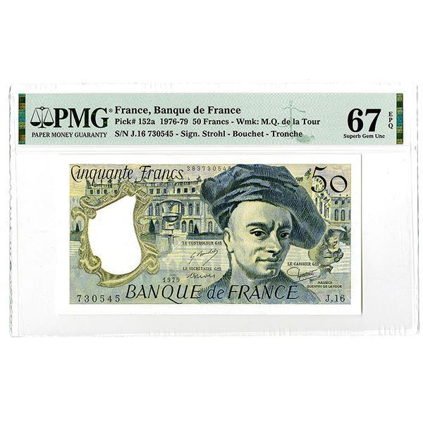 Banque de France, 1979 High Grade Issue Banknote.