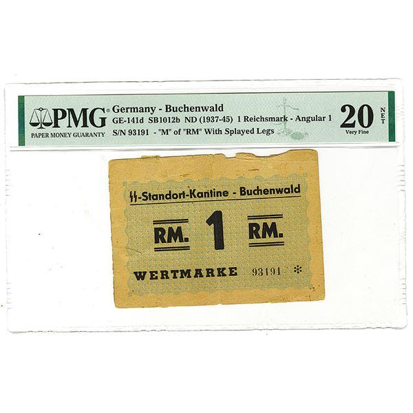 Germany, Standort-Kantine - Buchenwald, ND (1937-45) Issued Banknote.