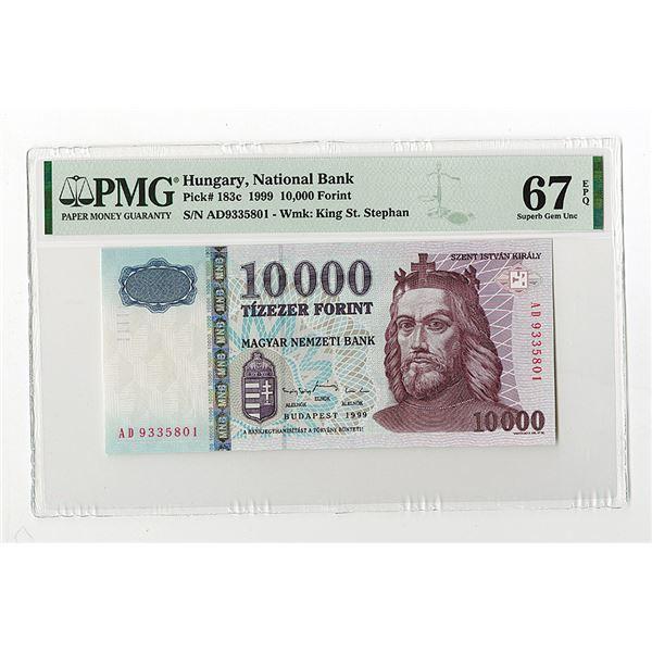 "Magyar Nemzeti Bank. 1999. ""Top Pop"", Issued Note."
