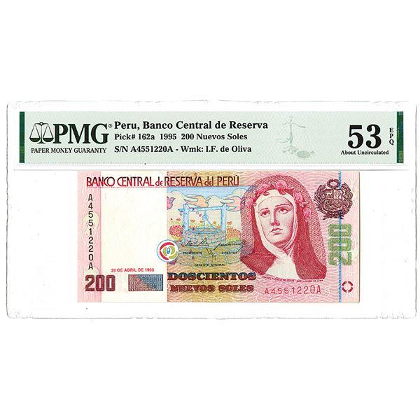 Banco Central de Reserve del Peru. 1995. Issued Note.