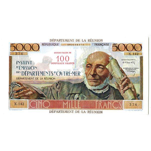 Institut d'Emission des Departements d'Outre-Mer. ND (1971) Issue Banknote.