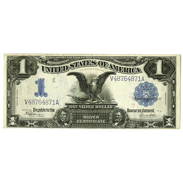 Silver Certificate. Series of 1899. $1, Fr.# 236, Issued Note.
