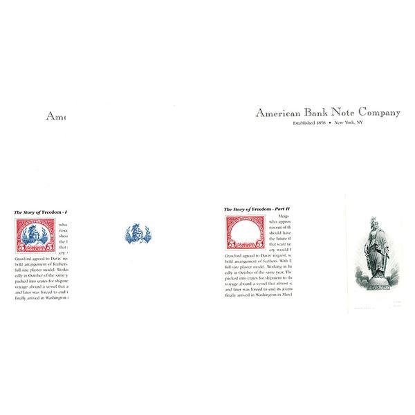 "ABNC Progressive Proof Quartet from ""The Story of Freedom"" Part II."