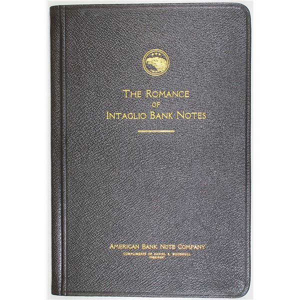 """The Romance of Intaglio Banknotes"" 1925 ABNC Book With Intaglio Portrait of Paul Revere"