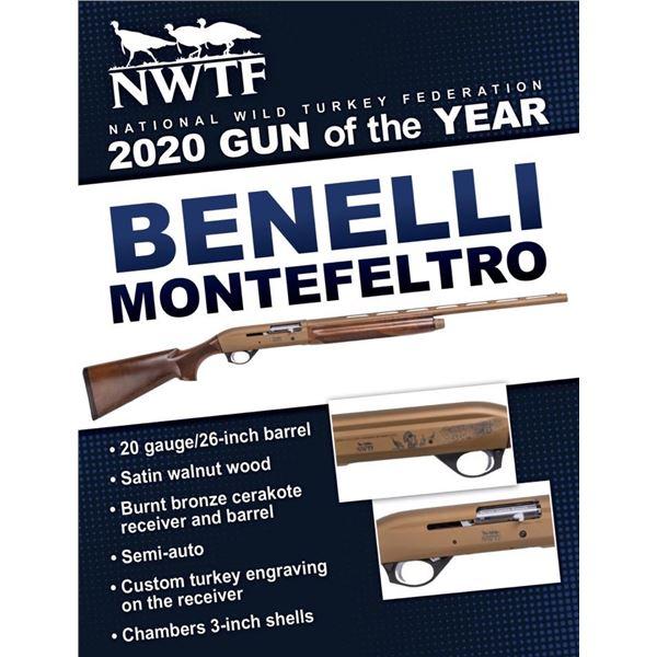 2020 GOTY Benelli Montefeltro Walnut/Cerakote With Engraving