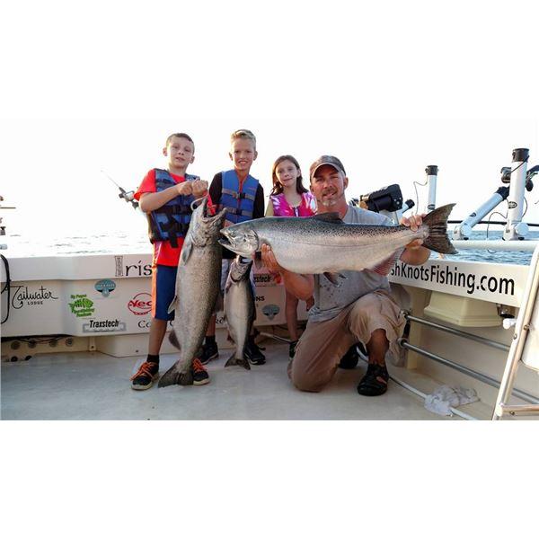 New York Lake Ontario Fishing Trip