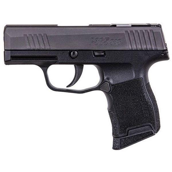 Sig Sauer P365 SAS Black 9mm 3.1In
