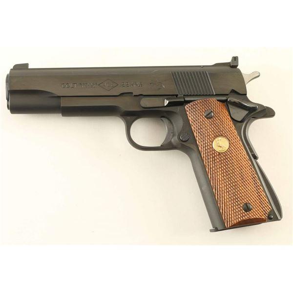 Colt Ace 22LR SN: SM21432