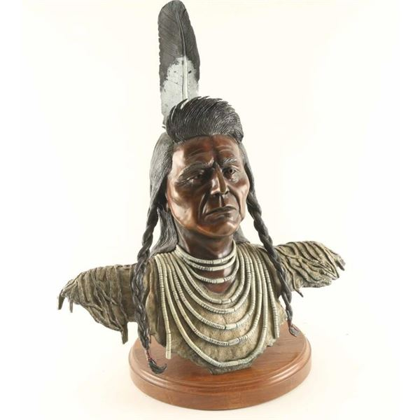 Fine Art Polychrome Bronze