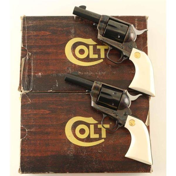Consequtive Set of Colt SAA Sheriff's Model