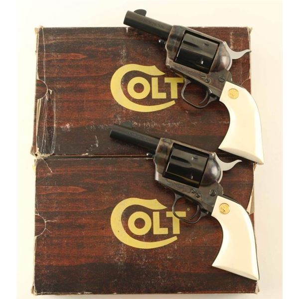 Consequtive Set of Colt SAA Sheriff's Model