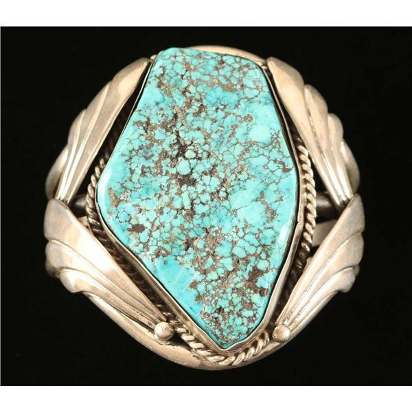 Large Turquoise Cuff Bracelet