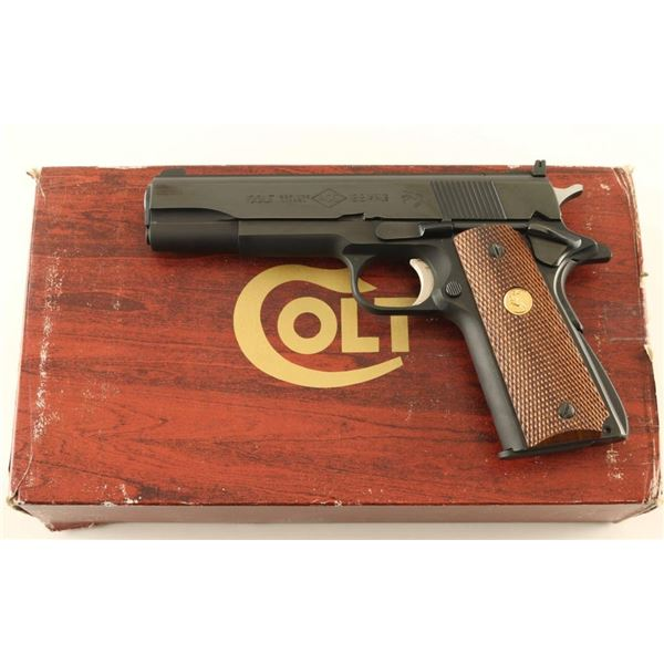 Colt Ace 22LR SN: SM19058