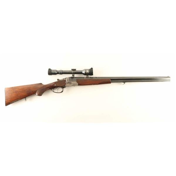 R. Wagner O/U Combination Gun 16 Ga/7.8x57
