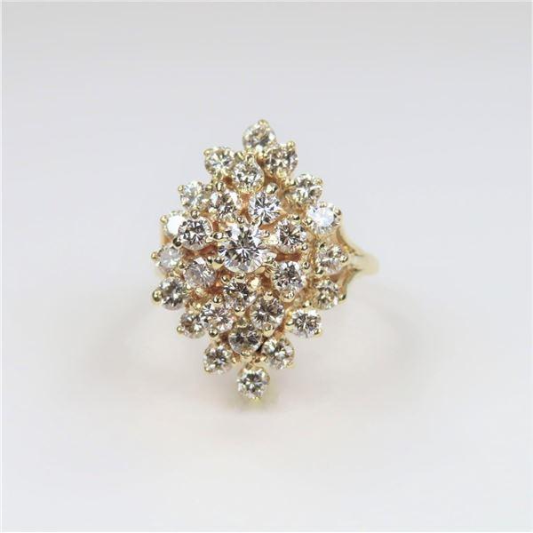 Glamorous Fine Quality Diamond Cocktail Ring